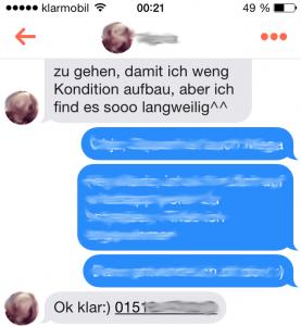 Tinder-Chat