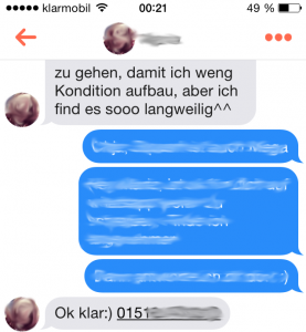 Tinder-Chat